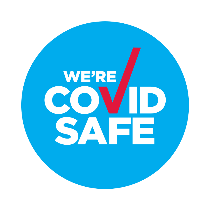 This image has an empty alt attribute; its file name is COVID_Safe_Badge_Digital.png